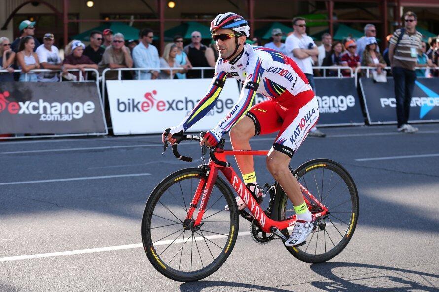 Tiago Machado, ciclista português da equipa Katusha.