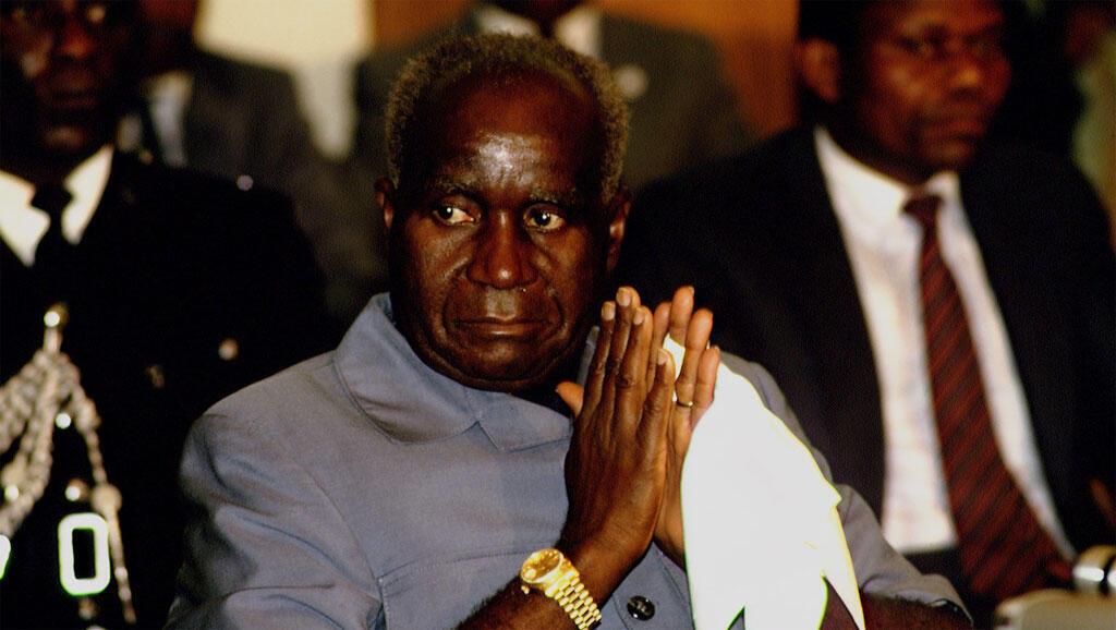 Kenneth Kaunda, au 75e anniversaire de l'ANC, 1987.