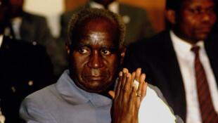 Kenneth Kaunda, 75ème anniversaire de l'ANC, 1987.