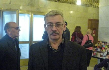 Председатель Правозащитного центра «Мемориал» Олег Орлов