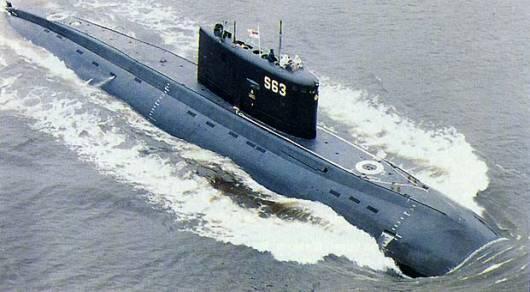 Tàu ngầm sắp được hạ thủy thuộc vào lớp Varshavyanka (DR)
