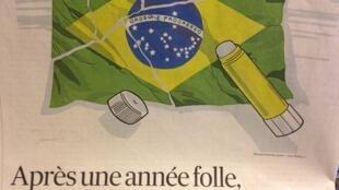 "Les Echos se questiona se o Brasil vai conseguir se recuperar após esse ""ano louco"""