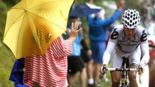 Heinrich Haussler vainqueur sous la pluie.