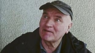 L'ancien chef de guerre des Serbes de Bosnie, Ratko Mladic.