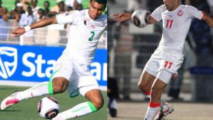 L'Algérien Soudani et le Tunisien Gasdaoui.
