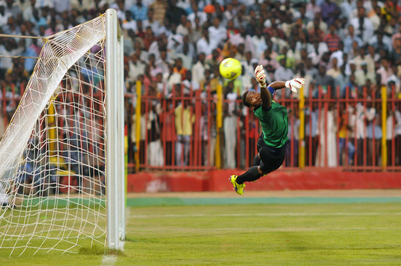 Lors du match Soudan-Afrique du Sud, en éliminatoires de la CAN 2015.