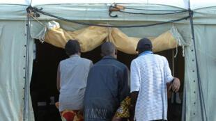 Kituo cha MSF kinachotoa huduma kwa wagonjwa wa kipindupindu nchini DRC.