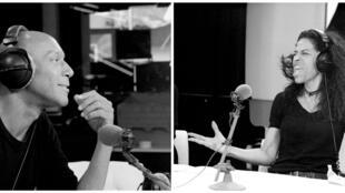 Alix Ewandé et Ken Norris à RFI.