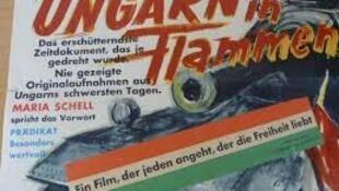 """Áp-phich bộ phim """"Hungary trong khói lửa - Cuộc chiến đấu của một dân tộc vì tự do"""""""