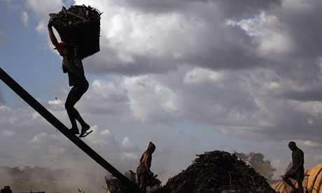 Foto del informe 2013 del Índice Mundial de la Esclavitud de la Walk  Free Foundation (WFF).