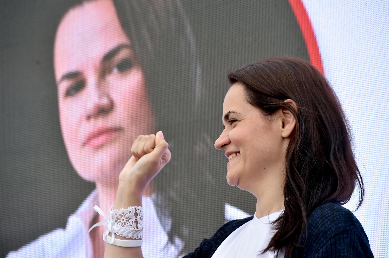 Presidential candidate Svetlana Tikhanovskaya has emerged as the rising star of the Belarus opposition