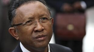 Hery Rajaonarimampianina, président de la République de Madagascar.