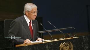 Ngoại trưởng Philippines tại LHQ. Ngày 29/09/2014.