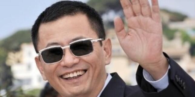 中国导演王家卫10月20日出席卢米埃尔电影奖致敬活动