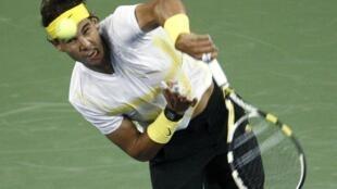 Rafael Nadal iniciou a defesa do título de campeão no Aberto dos Estados Unidos