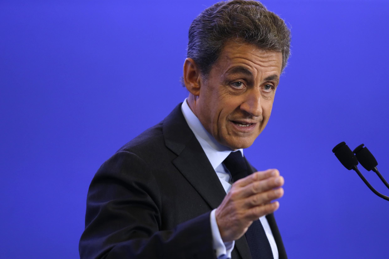 Nicolas Sarkozy, à Paris, le 3 mai.