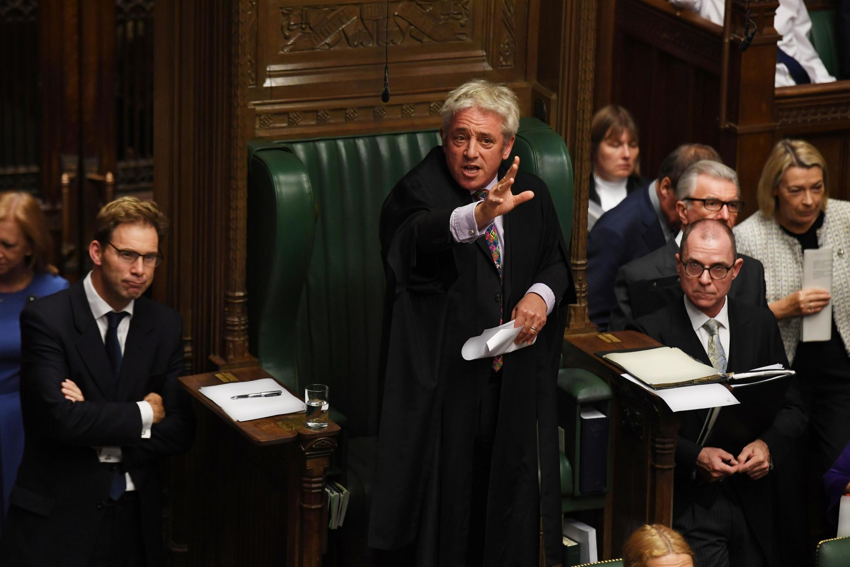 Chủ tịch Nghị Viện Anh John Bercow trong phiên họp ngày 21/10/2019.