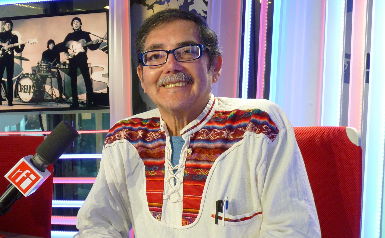 Daniel 'Kiri' Escobar en los estudios de RFI