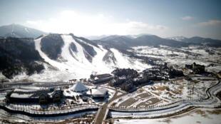 PyeongChang, nơi sẽ diễn ra Thế Vận Hội mùa đông 2018, Hàn Quốc.