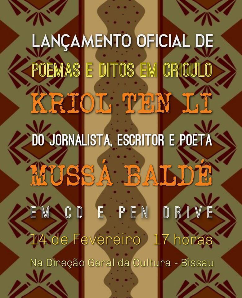 "Colectânea de poemas em áudio "" Kriol Tem Li"""