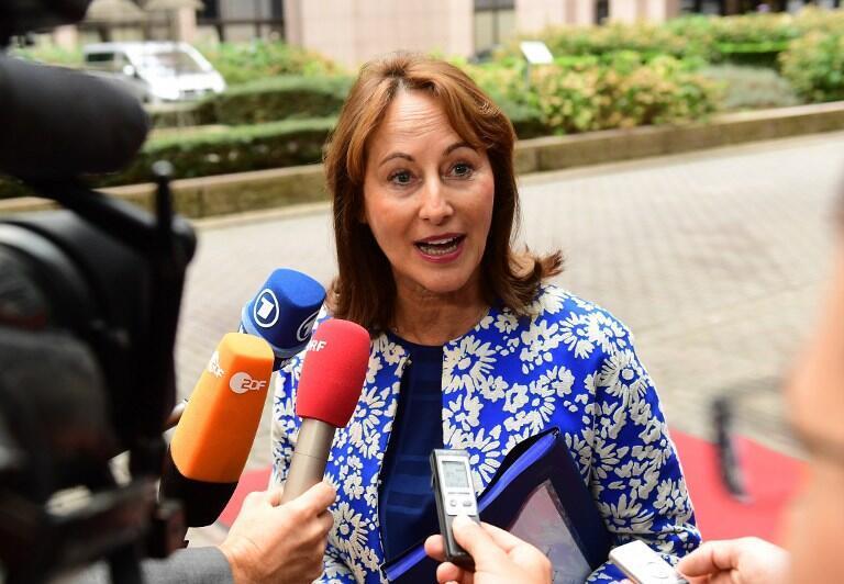 Ségolène Royale, ex-ministre française de l'Environnement et ex-présidente de la COP 21 à Bruxelles, le 30 septembre 2016