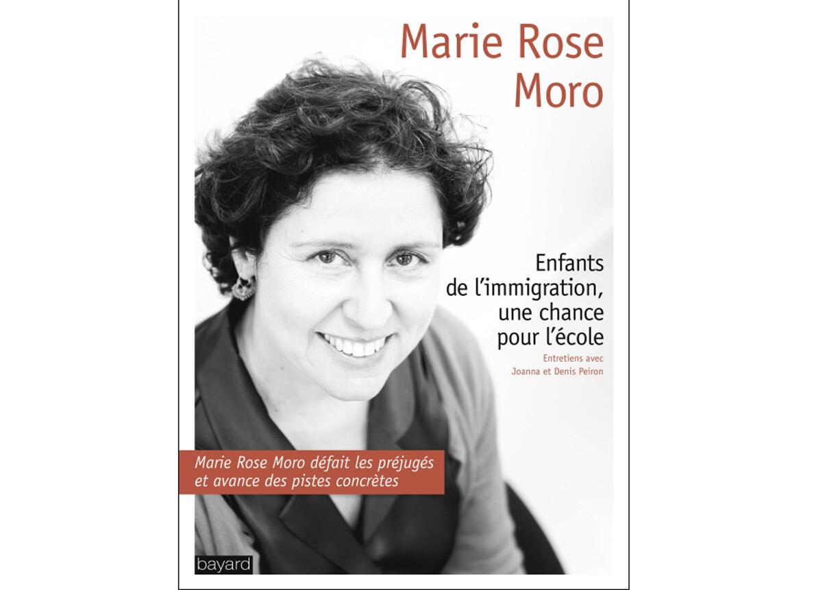 Couverture du livre «Enfants de l'immigration, une chance pour l'école» de Marie Rose Moro.