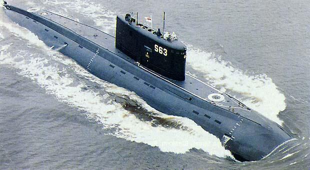 Tàu ngầm lớp Kilo 636 của Nga được giao cho Việt Nam. Ảnh minh họa.