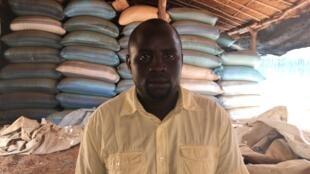 AbdelRachid Issak Hassane, a Darfuri tortured in Khartoum, in Djabal refugee camp, eastern Chad.