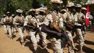 Wasu daga cikin dakarun sojin Chadi da ke yaki da Boko Haram