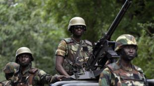 PHOTO Militaires Ghana