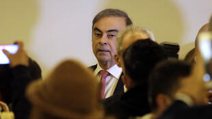 Former Nissan chief Carlos Ghosn in BeirutJanuary 8, 2020 after fleeing from Japana