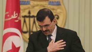 Le Premier ministre tunisien Ali Larayedh.