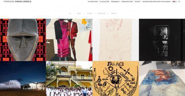 Site web de la fondation de Sindika Dokolo.