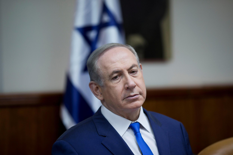 le Premier ministre israélien Benyamin Netanyahu à Jérusalem, le 8 janvier 2017.