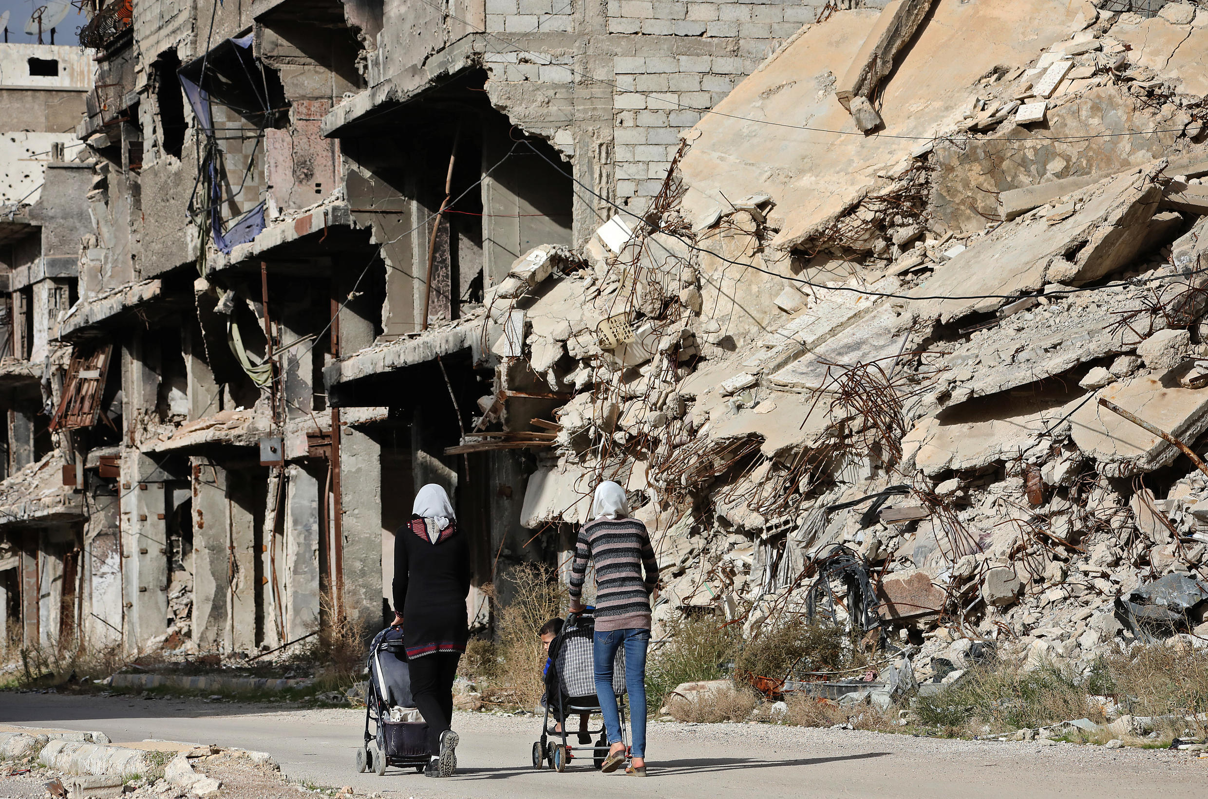 Millions more people in Syria and abroad need help this year, even though violence has fallen