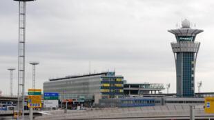 Paris-Orly Sud airport, south of Paris