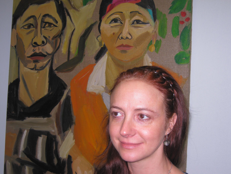 Преподаватель курсов русского языка для детей мигрантов Леокадия Френкель
