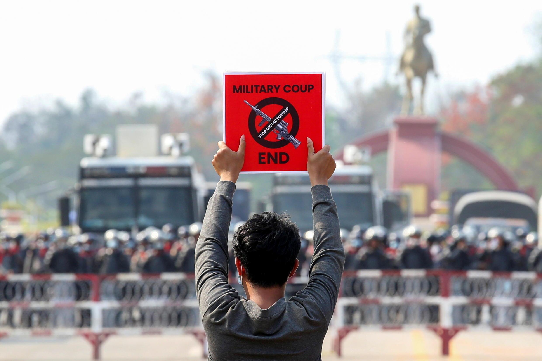 BIRMANIE MYANMAR MANIFESTATION COUP D'ETAT PROTESTS