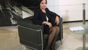 Lea Giménez, ministra de Finanzas de Paraguay, está en Escala en París en el marco de la semana de América Latina.