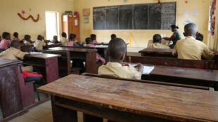 Une école de Conakry, image d'illustration. Photo prise le 13 février 2018.