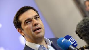 « Au terme d'une bataille âpre, nous avons réussi à emporter une restructuration de la dette », a assuré Alexis Tsipras, le Premier ministre grec, après l'annonce d'un accord à Bruxelles, ce lundi 13 juillet.