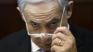 Премьер-министр Израиля Беньямин Нетаньяху. Иерусалим 04/08/2013