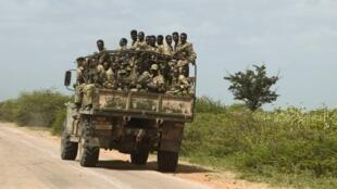 Des soldats éthiopiens en patrouille. (Image d'illustration)