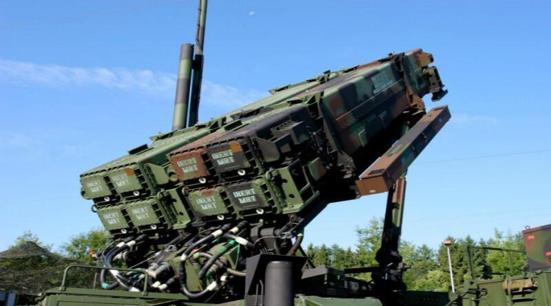 """網傳""""愛國者-3""""防空導彈 資料照片"""