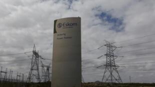 Une station d'électricité Eskom, près de Cape Town, le 20 mars 2016.