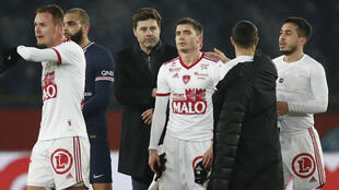 Football Pochettino PSG Brest Reuters match 9 janvier 2021