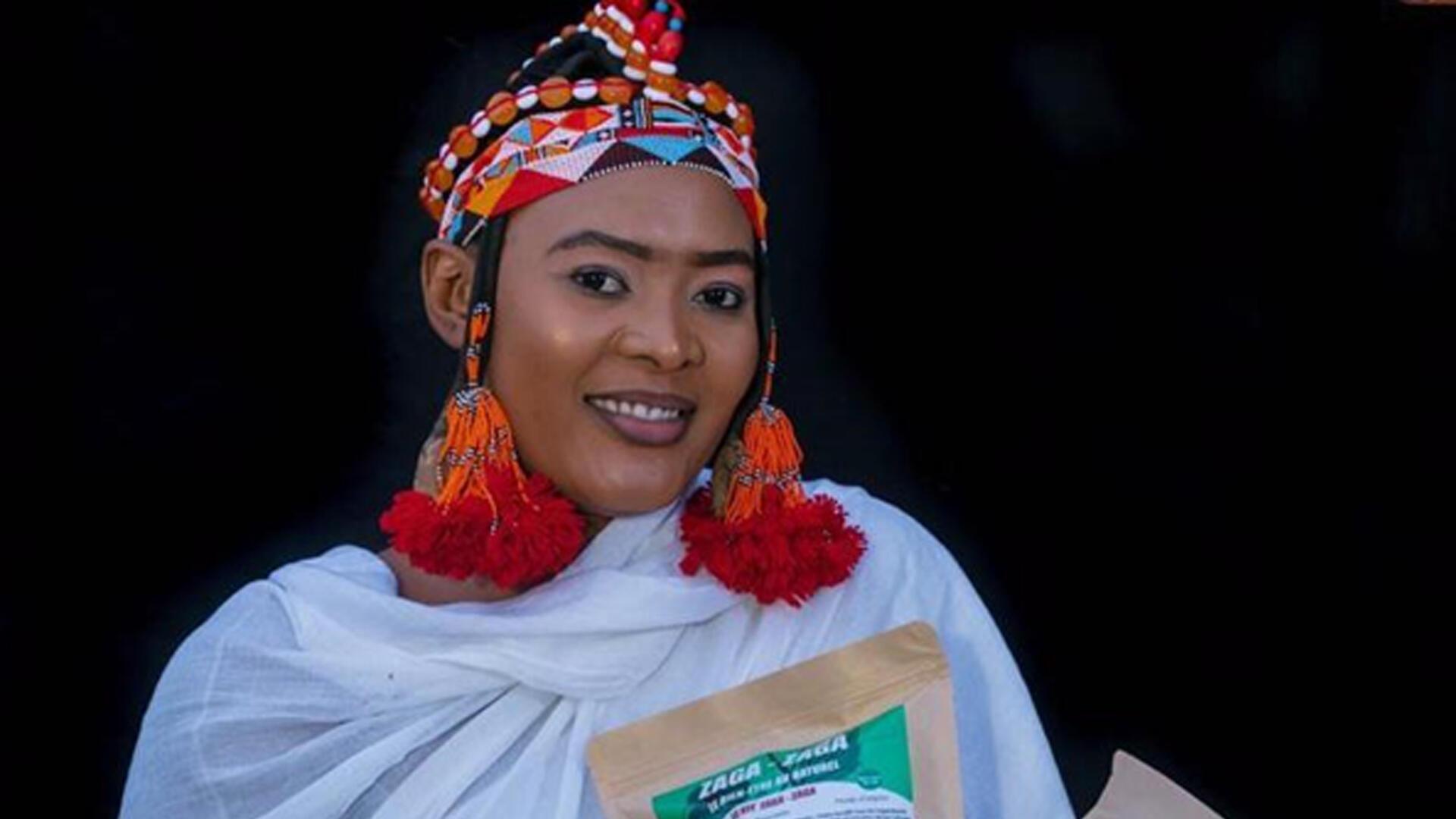 Oumou Maiga, entrepreneuse au Mali.