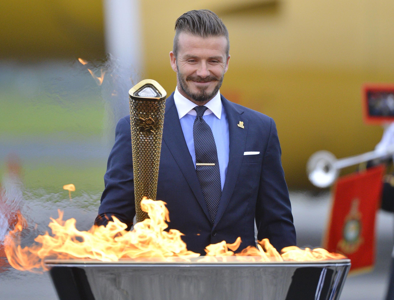 David Beckham làm đại sứ cho Thế vận hội Olympic 2012