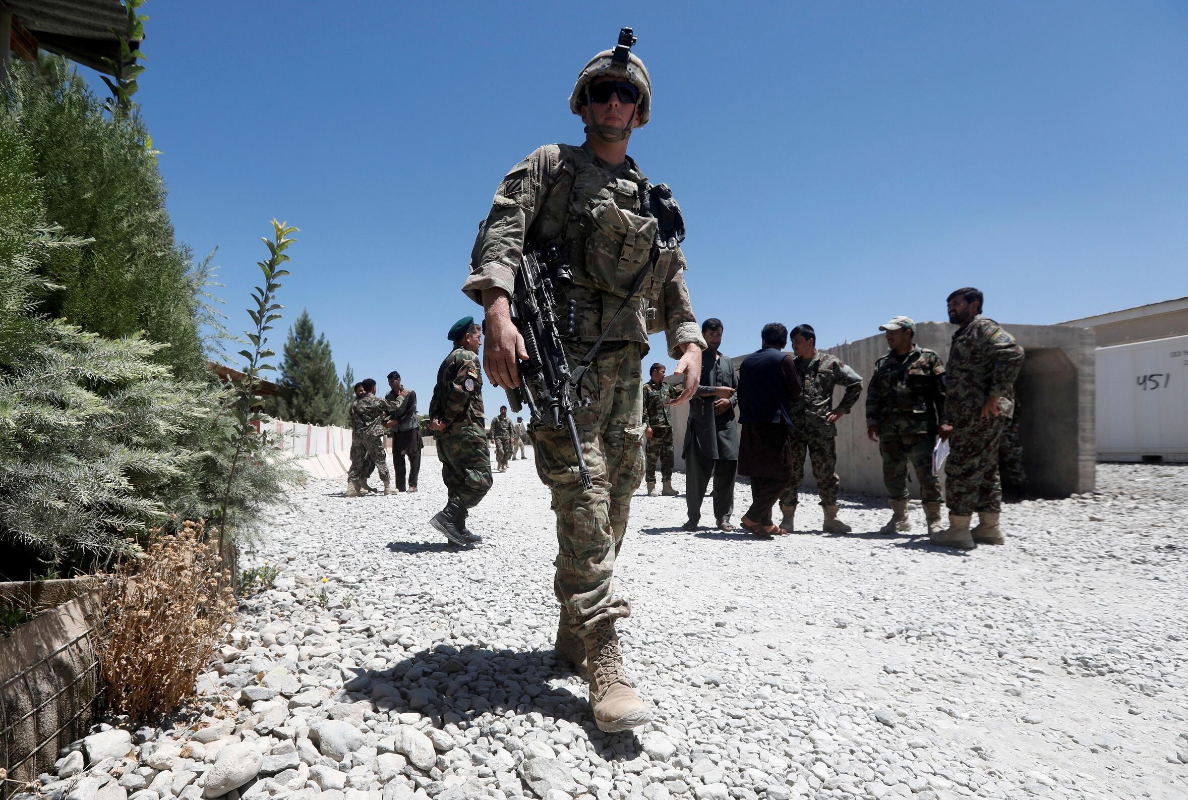 Soldat américain Afghanistan Otan