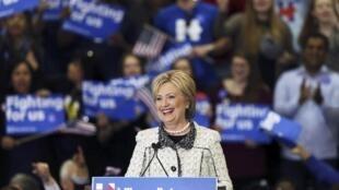 'Yar takarar shugabancin Amurka karkashin jam'iyyar Democrat, Hillary Clinton.